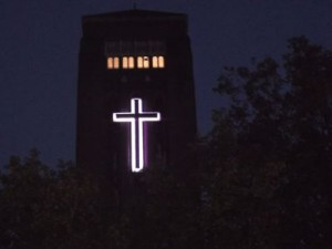 church cross led lighting