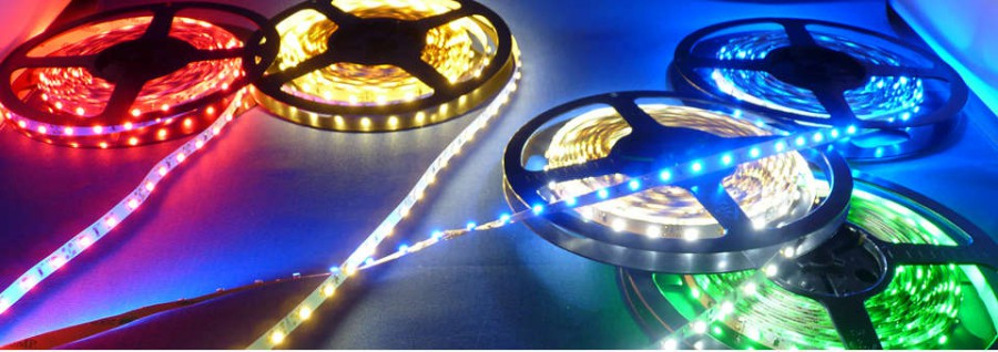 colour changing LED strip lights flexible