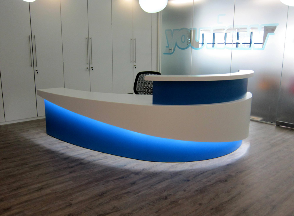 Reception Led Display Sdl Lighting