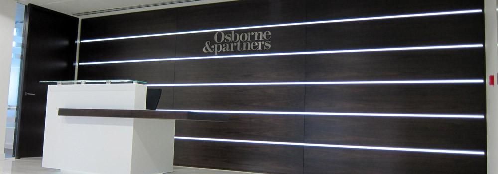Reception LED Display