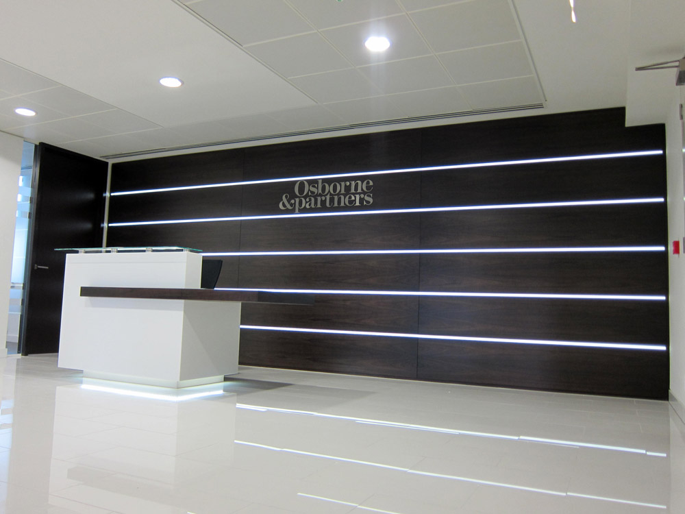 reception led display sdl lighting. Black Bedroom Furniture Sets. Home Design Ideas