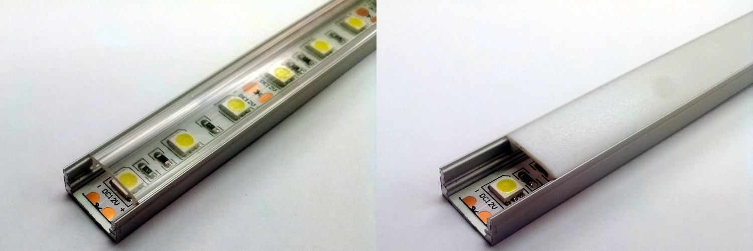 Stair LED Lighting - Aluminium LED Profile
