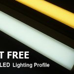 dot free led strip lighting