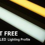 dot free led strip lighting