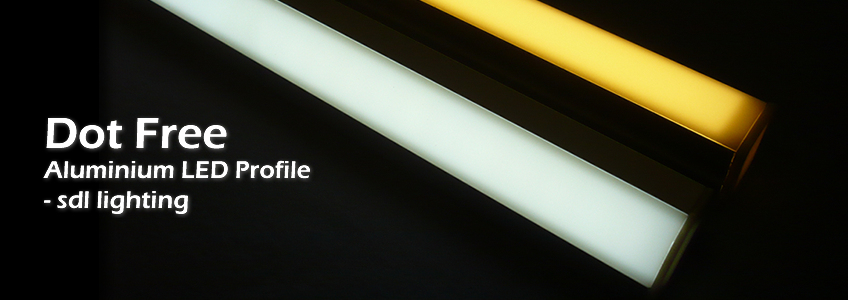 Dot Free Aluminium LED Profile