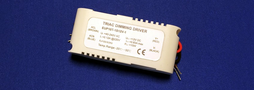 10W TRIAC Constant Voltage Dimmable Driver
